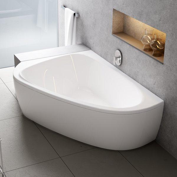 Акрилова асиметрична ванна двомісна LoveStory II 9721334406027